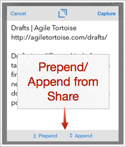 Share extension